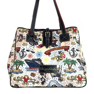 Dooney & Bourke Retired Cruise Sketch Large Tote